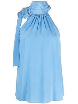 MICHAEL Michael Kors halterneck silk blouse MS14M8H96K