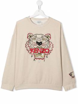 Kenzo Kids толстовка Chinese New Year Tiger K15057