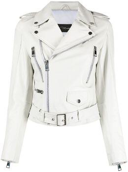 Manokhi байкерская куртка SS21MANO70A82BIKERCLASSICWHITE