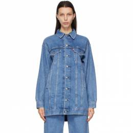Ganni Blue Levis Edition Denim Oversized Jacket F6089