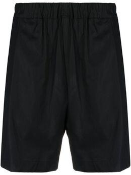 Laneus straight-leg cotton shorts BRU05CC3