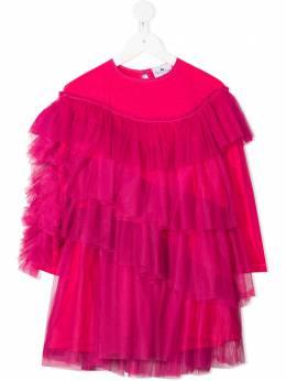 Raspberry Plum ярусное платье Livia из тюля D6FPAW20