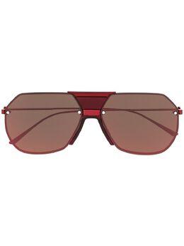 Bottega Veneta Eyewear солнцезащитные очки-авиаторы BV1068S