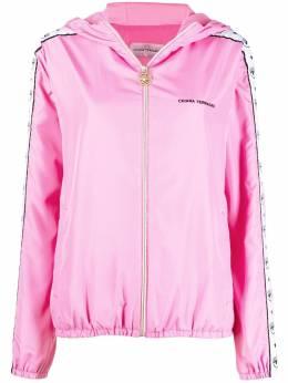 Chiara Ferragni куртка Logomania на молнии 21PECFG018