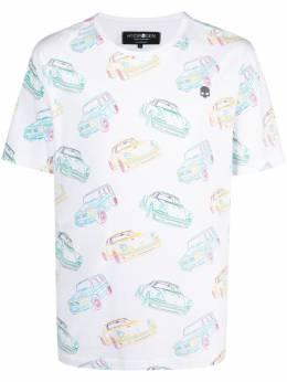 Hydrogen рубашка с принтом 284626