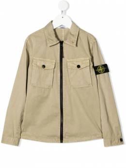 Stone Island Junior zipped bomber jacket 741610410