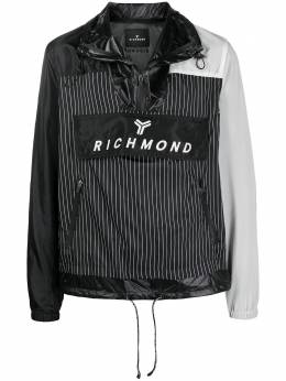 John Richmond куртка с карманами и вставками UMP21045GB