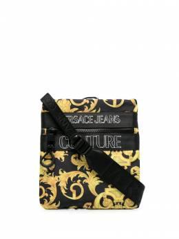 Versace Jeans Couture сумка через плечо с узором E1YWABA571896