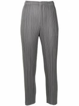 Pleats Please Issey Miyake укороченные плиссированные брюки PP16JF111