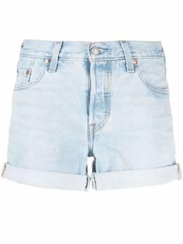 Levi's джинсовые шорты с завышенной талией 299610028