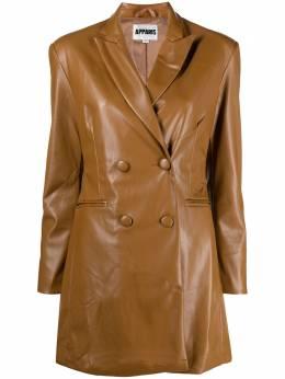 Apparis двубортное платье-блейзер Ciara S21064CM