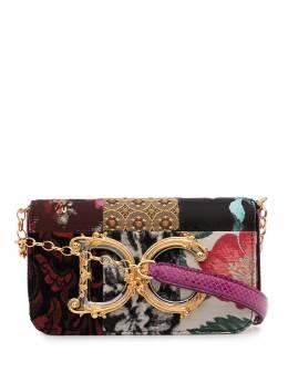 Dolce&Gabbana сумка через плечо DG Girl в технике пэчворк BB6885A8M82