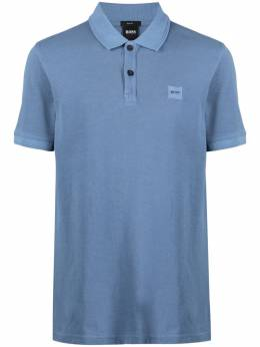 Boss by Hugo Boss рубашка поло с нашивкой-логотипом 50378365