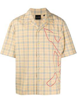 Daily Paper клетчатая рубашка с логотипом 2111131KOVAN