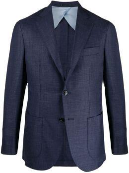 Barba однобортный пиджак GJIMMY1637