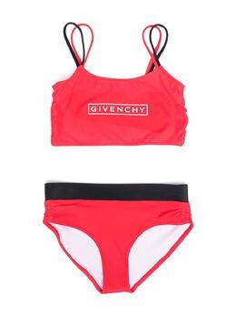 Givenchy Kids logo-print bikini H10036