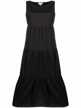 Woolrich ярусное платье WWDR0074FRUT1509