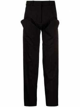 Y / Project high-rise cut-out tapered trousers WPANT9S20