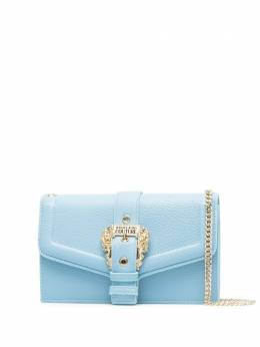 Versace Jeans Couture клатч из зернистой кожи с пряжкой E3VWAPF671578