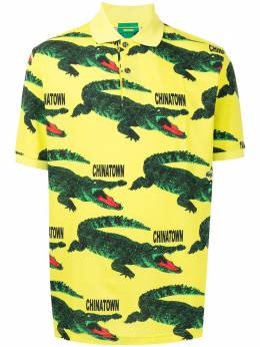 Lacoste logo-print cotton polo shirt PH011651