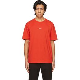 Boss by Hugo Boss Red Tchup T-Shirt 50418749