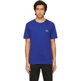 Boss by Hugo Boss Blue Curved T-Shirt 50412363