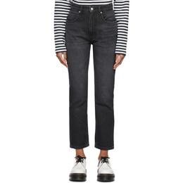Ami Alexandre Mattiussi Grey Straight Fit Jeans E21FD010.611