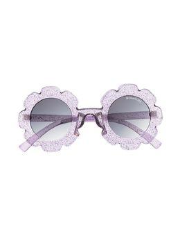 Monnalisa затемненные солнцезащитные очки в круглой оправе 9370337082