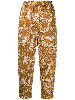 Tela укороченные брюки с графичным принтом 140230010168