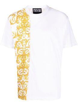 Versace Jeans Couture футболка с принтом B3GWA7R1S0155