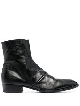 Officine Creative ботинки Sean 3 на молнии OCUSEAN003HORLU1000