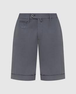 Темно-серые шорты Isaia 2300006705946