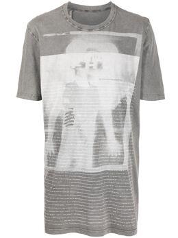 11 By Boris Bidjan Saberi футболка с графичным принтом 1056SS2111TS5DDP11XMAMICKEY