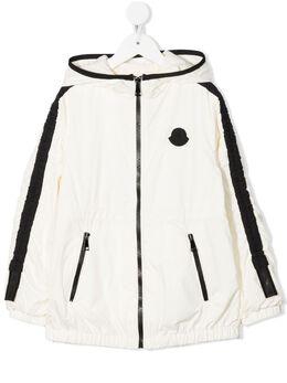 Moncler Enfant logo-patch jacket G19541B7141053333