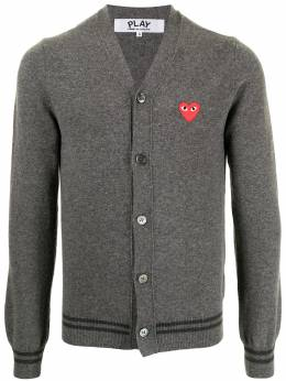 Comme Des Garcons Play кардиган с нашивкой AZN016051