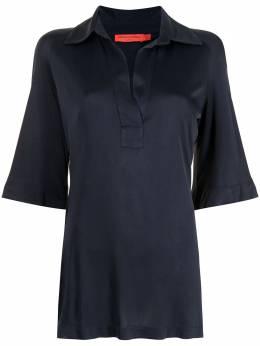 Manning Cartell длинная рубашка с короткими рукавами 11775BLUD