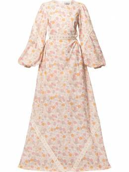 We Are Kindred платье макси Pia с цветочным принтом и вырезами KIN1749D