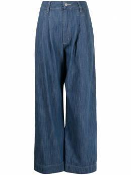 Manning Cartell широкие джинсы с завышенной талией 30716BLUD