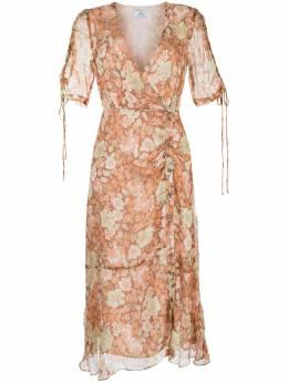 We Are Kindred платье Gisela с запахом и цветочным принтом KIN1773B