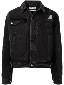 C2H4 укороченная джинсовая куртка R002016