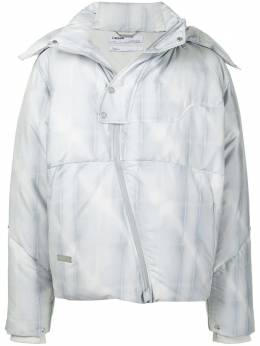 C2H4 Filtered Reality puffer jacket R002007
