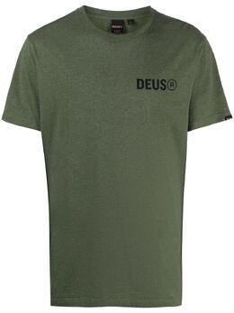 Deus Ex Machina футболка с логотипом DMP201826B