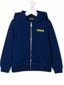 Dsquared2 Kids Icon-print zipped hoodie DQ0246D002Y