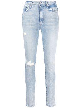 Mother джинсы скинни с эффектом потертости 1116836