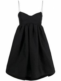 Cecilie Bahnsen короткое платье с бюстье SS21010032