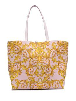 Versace Jeans Couture сумка-тоут с принтом Barocco E1VWABZ171588