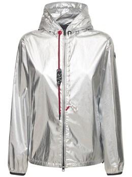 Куртка Из Хлопка С Покрытием Металлик Moncler 69I02K043-OTAw0