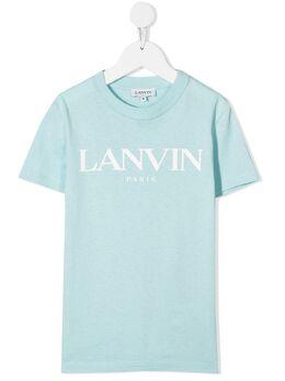 Lanvin Enfant футболка с логотипом N25024
