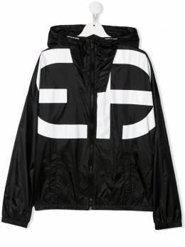 Emporio Armani Kids куртка с логотипом 3KBN01NLYZ