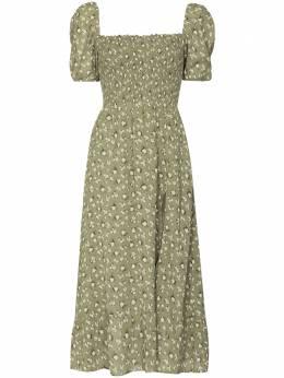 Reformation платье миди Meadow с цветочным принтом 1306018TCU